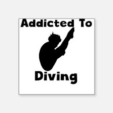 Addicted To Diving Sticker