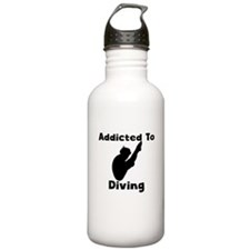 Addicted To Diving Water Bottle