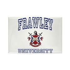 FRAWLEY University Rectangle Magnet