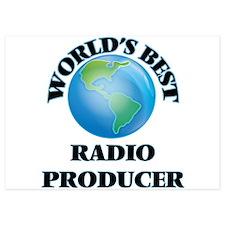 World's Best Radio Producer Invitations