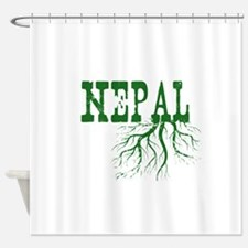 Nepal Roots Shower Curtain
