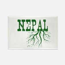 Nepal Roots Rectangle Magnet