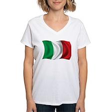 Wavy Italy Flag Shirt