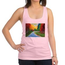 Autumn Stream Racerback Tank Top