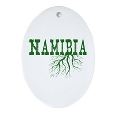 Namibia Roots Ornament (Oval)