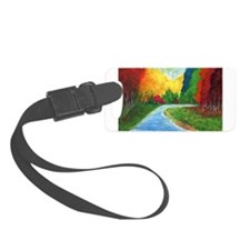 Autumn Stream Luggage Tag