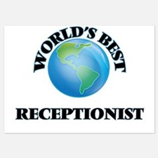 World's Best Receptionist Invitations