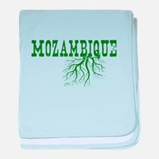 Mozambique Roots baby blanket