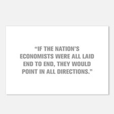 IF THE NATION S ECONOMISTS WERE ALL LAID END TO EN