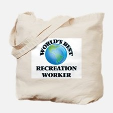 World's Best Recreation Worker Tote Bag