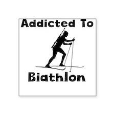 Addicted To Biathlon Sticker