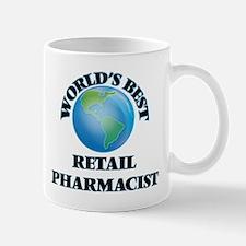 World's Best Retail Pharmacist Mugs
