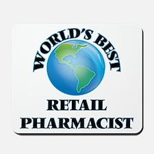 World's Best Retail Pharmacist Mousepad