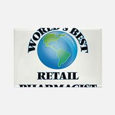 World's Best Retail Pharmacist Magnets