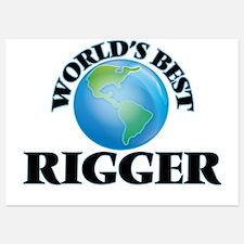 World's Best Rigger Invitations