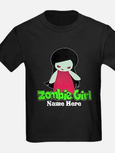 Zombie Girl Custom T