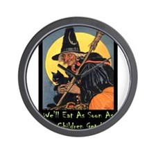 Halloween_WITCH - WELL EAT 10x14 GREEN.png Wall Cl