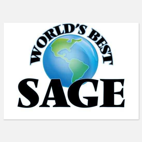 World's Best Sage Invitations