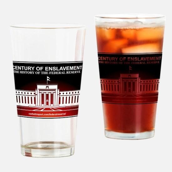Century of Enslavement Drinking Glass