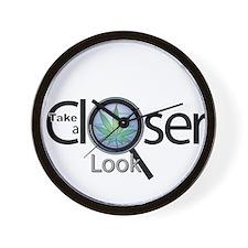 Look Closer Wall Clock