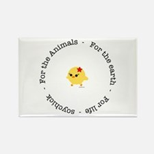 For the Animals, Earth and Life Rectangle Magnet