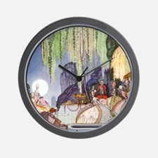Cinderella by Kay Nielsen Wall Clock