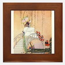 In Powder and Crinoline008 Framed Tile