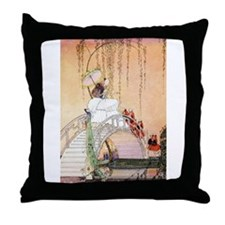 In Powder and Crinoline008 Throw Pillow
