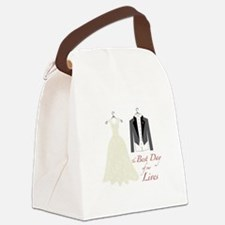 Best Day Canvas Lunch Bag