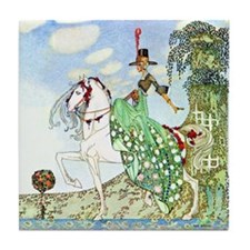 Princess Minotte by Kay Nielsen Tile Coaster
