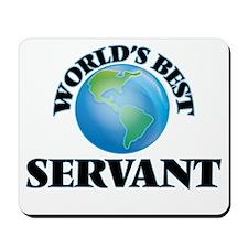 World's Best Servant Mousepad
