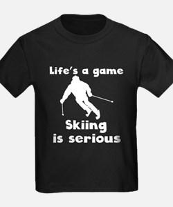 Skiing Is Serious T-Shirt