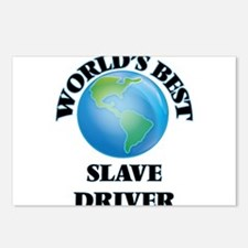 World's Best Slave Driver Postcards (Package of 8)