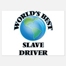World's Best Slave Driver Invitations
