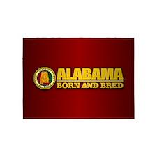 Alabama Born and Bred 5'x7'Area Rug