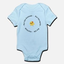 For the Animals, Earth and Life Infant Bodysuit