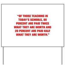 OF THOSE TEACHING IN TODAY S SCHOOLS 80 PERCENT AR