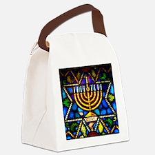 Happy Hanauka Canvas Lunch Bag