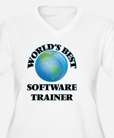 World's Best Software Trainer Plus Size T-Shirt