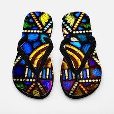 Happy Hanauka Flip Flops