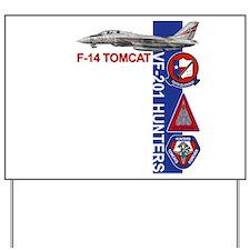 Naval aviator wings Yard Sign