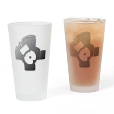 74 boltface Drinking Glass