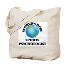 World's Best Sports Psychologist Tote Bag