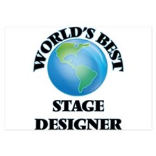 World's Best Stage Designer Invitations