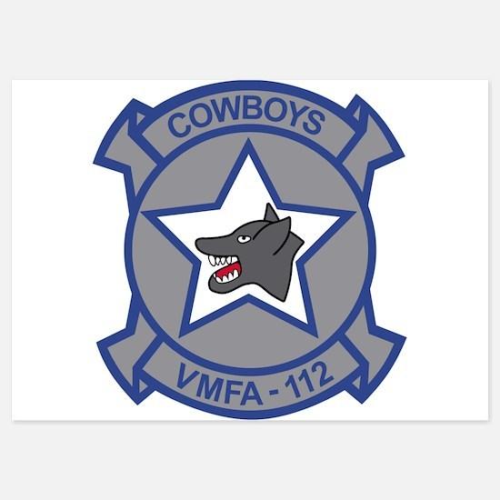 vmfa-112_cowoys Invitations