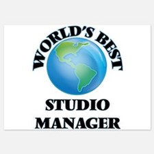 World's Best Studio Manager Invitations