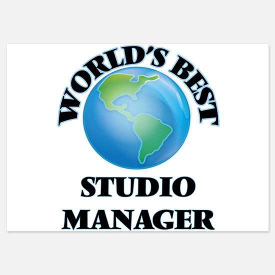 World's Best Studio Manager Invitations
