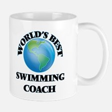 World's Best Swimming Coach Mugs