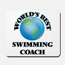 World's Best Swimming Coach Mousepad