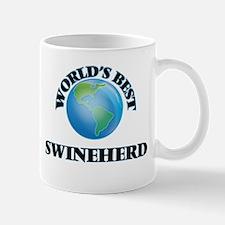 World's Best Swineherd Mugs